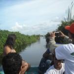boat ride limon lagoon